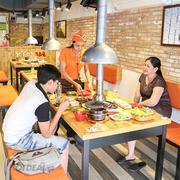 Set Lẩu Nướng Hàn Quốc Cho 02 Người + Free Món Ăn Kèm,Trà Quế - K'pop BBQ