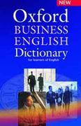 Oxford Business English Dictionary (kèm 1 CD )