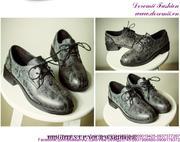 Giày oxford da thu đông mẫu mới phong cách sành điệu GUBB143