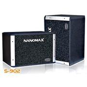 Loa Nanomax S-902, loa nanomax, loa chuyên dùng cho nghe nhạc, karaoke, loa hội trường sân khấu