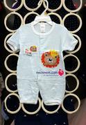 sơ sinh đến 12 tháng Body cotton cộc tay quần đùi mùa hè Carminas cho bé trai bé trai