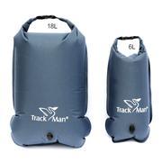 Bộ 2 túi đựng đồ chống thấm Trackman TM6113 (Xám đậm)