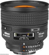 Ống kính máy ảnh Nikon AF 85mmf 1.4D