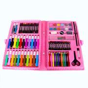 Hộp bút màu và hình dán 132 món BR040