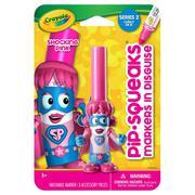 Bút lông hình nhân vật - Siêu nhân Pink