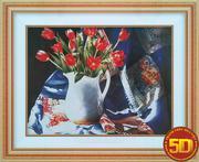 Bình hoa tulip