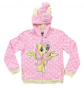 My Little Pony Fluttershy Stars Girls Pink Hoodie size 7.10/12 và 12/14