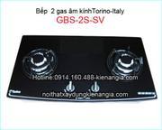 bếp torino âm kính 2 gas GSB-2S-SV
