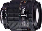 Lens Nikon 28-105mm F3.5-4.5 AF D Macro