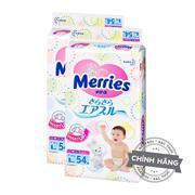Combo 2 túi Tã-bỉm dán Merries L54