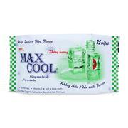 Khăn ướt Max Cool 25 tờ, không hương