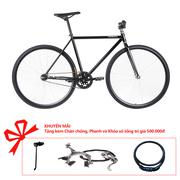 Xe đạp Topbike Alpha khung màu đen