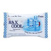 Khăn ướt Max Cool 15 tờ, có hương