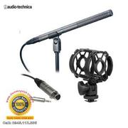 Audio-Technica AT897 - Shotgun Microphone Kit with Mini Cable - Includes: Universal Shock Mount & X