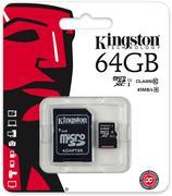 Thẻ nhớ Kingston MicroSDXC 64GB class 10, UHS-I, 45MB/s