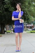Váy ôm phối ren MNG Suit  V415-02-180