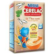 Bột Ăn Dặm Nestle Cerelac - Cá Và Rau Xanh (200g)