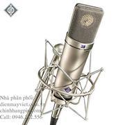 Neumann U87 Ai/SETZ - Microphone with EA87 Elastic Suspension Mount (Nickel)