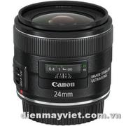 Canon EF 24mm f/2.8 IS USM Autofocus Lens USA     Mfr# 5345B002