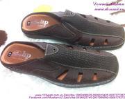 Dép giả giày mọi da nam phong cách sành điệu DNM17