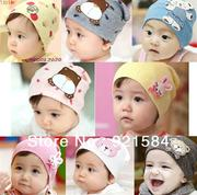 Mũ cotton cho bé 1-3 tuổi