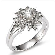 Nhẫn nữ bạc Shaiya - NN 452